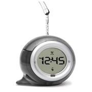 Ebern Designs Squirt Water Alarm Clock; Smoke Gray