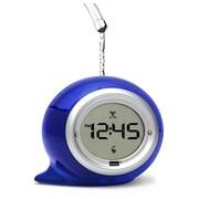 Ebern Designs Squirt Water Alarm Clock; Blueberry Blue