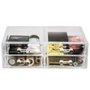 Rebrilliant 4 Drawer Cosmetic Organizer