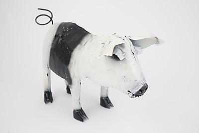 August Grove Daniella The Standing Pig Figurine
