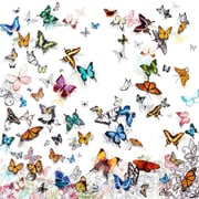 Zoomie Kids 'Papillon' Graphic Art Print on Wrapped Canvas