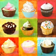 Brayden Studio 'Enjoy Cupcakes' Print on Wrapped Canvas