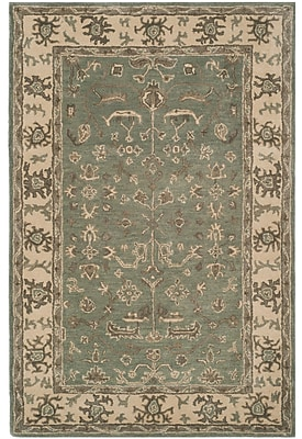 Astoria Grand Colliers Hand-Tufted Wool Slate Area Rug; 4' x 6'
