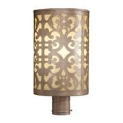 Fleur De Lis Living Concetta Outdoor 1-Light Lantern Head; Champagne Silver