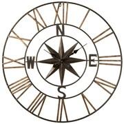 Loon Peak Oversized Imran Compass 32.25'' Wall Clock