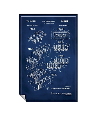 Successories 'Lego Patent' Wall Decal; 36'' H x 24'' W