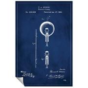 Successories 'Light Bulb Patent' Wall Decal; 48'' H x 32'' W