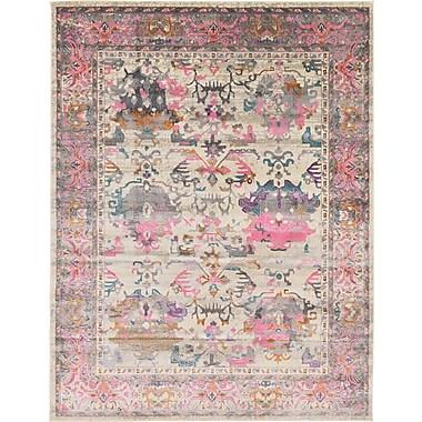 Mistana Charlena Pink Area Rug; 9' x 12'