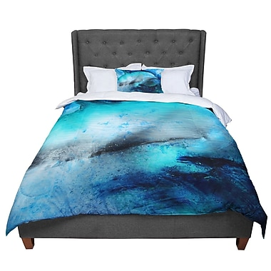 East Urban Home Josh Serafin Dolphin Comforter; Queen