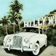 Brayden Studio 'Hollywood' Print on Wrapped Canvas