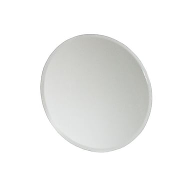 Ivy Bronx Round Glass Accent Mirror