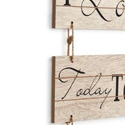 Gracie Oaks I Love You Today, Tomorrow and Forever Sectioned Wall Decor