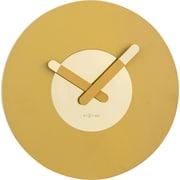 Latitude Run 15.5'' Round Wall Clock; Gold