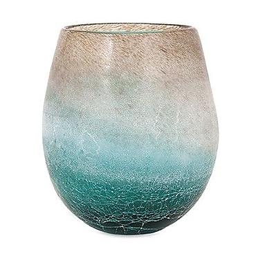 Highland Dunes Ranjeet Frosted Short Vase