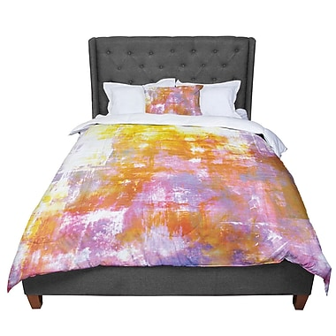 East Urban Home Ebi Emporium off the Grid II Painting Comforter; King