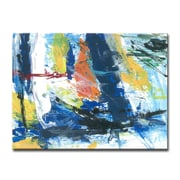 Brayden Studio 'Primary Abstract' Acrylic Painting Print on Canvas; 20'' H x 30'' W