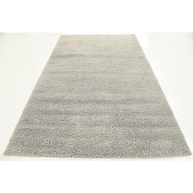 Ebern Designs Starla Light Gray Area Rug; 9' x 12'