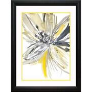 Latitude Run 'A Sunny Bloom' Framed Graphic Art Print; 26'' H x 21'' W