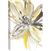 Latitude Run 'A Sunny Bloom' Gallery Print on Wrapped Canvas; 36'' H x 24'' W