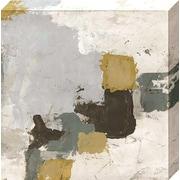 Williston Forge 'Uptown Shuffle II' Graphic Art Print on Canvas; 20'' H x 20'' W