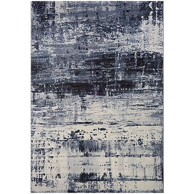 Williston Forge Andover Abstract Mosaic Slate Area Rug; Runner 2'7'' x 7'10''