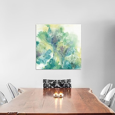 East Urban Home Garden II Painting Print on Wrapped Canvas; 12'' H x 12'' W x 1.5'' D