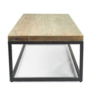 17 Stories Giustino Industrial Coffee Table