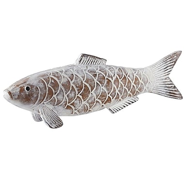Bay Isle Home Fish w/ Scales Magnesium Wall D cor