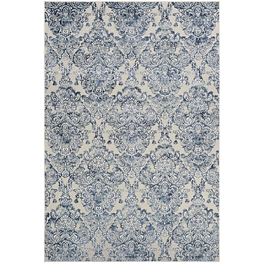 Ophelia & Co. Amethyst Blue Area Rug; 2'1'' x 3'7''