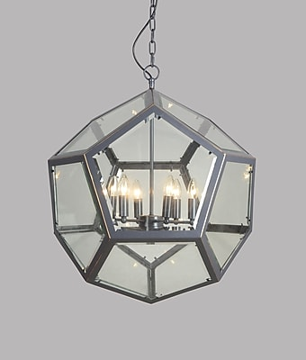 17 Stories Herm nia 6-Light Foyer Pendant