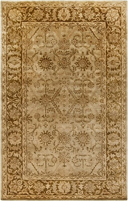 Alcott Hill Anderle Olive Area Rug; 2' x 3'