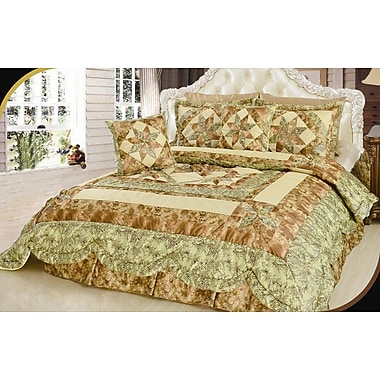 August Grove Justine Quilt Set; King/California King