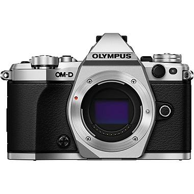 Olympus OM-D E-M5 Mk. II Camera, Body Only, Silver (V207040SU000)