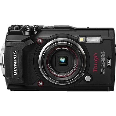 Olympus Tough TG-5 Waterproof Digital Camera, Black (V104190BU000)