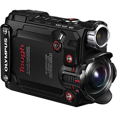 Olympus – Caméra d'action TG-Tracker, gamme Tough, noir (V104180BU000)