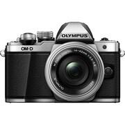 Olympus OM-D E-M10 Mk. II with 14-42mm Lens, Silver (V207051SU000)