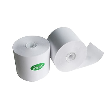 FuTECH White Bond Paper Roll, 2.25''W x 2.75''D, 50/Pack
