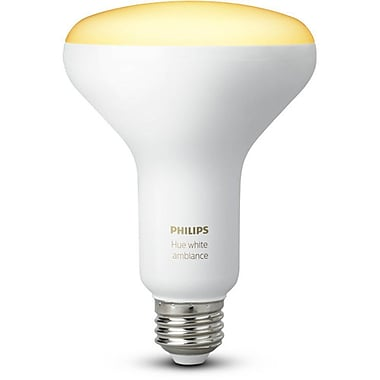 Philips Hue BR30 White Ambiance Bulb, 2/Pack (466508)