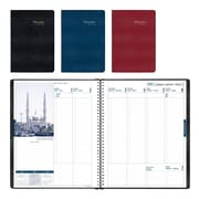 Brownline® – Agenda hebdomadaire de la collection internationale 2018, 11 po x 8 1/2 po, couleurs variées, trilingue
