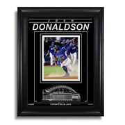 "Art of the Sport Josh Donaldson Toronto Blue Jays Engraved Framed Photo - 2016 ALDS Slide, 15""x19"""