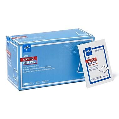 Medline MDS090670 Sterile Alcohol Prep Pads Large 1000/Pack