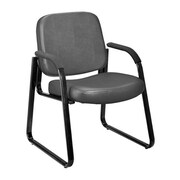 Ebern Designs Galloway Guest Chair; Charcoal