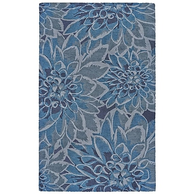 Winston Porter Sang Hand Tufted Gulf Indoor/Outdoor Area Rug; 5' x 8'