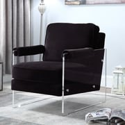 Everly Quinn Bourne Armchair; Black