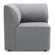 Comfort Research Big Joe Lux Modular Indoor/Outdoor Corner Piece Chair w/ Cushion