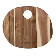 Bloomingville Wood ''Meat'' Cutting Board; 9.84'' H x 11.81'' W x 0.47'' D