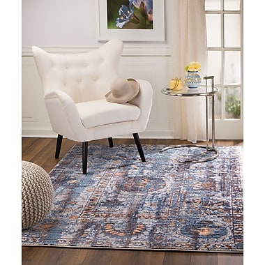 Bungalow Rose Andrews Taupe Area Rug; 7'11'' x 10'2''