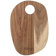 Bloomingville Wood ''Meat'' Cutting Board; 11.81'' H x 8.27'' W x 0.47'' D