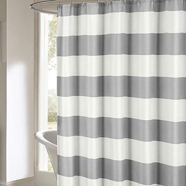Breakwater Bay Ivanna Shower Curtain; Gray
