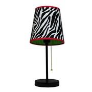 Ebern Designs Mccarthy 15'' Table Lamp; Zebra